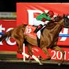 Animal Kingdom wins the 2013 Dubai World Cup.<br /> Photo  by Dave Harmon