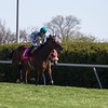 Centre Court with Julien Leparoux (#1) aboard wins the 25th Running of The Jenny Wiley (Grade I)  at Keeneland on April 13, 2013.  Photo by Mark Mahan