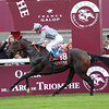 Longchamp Prix de L'Arc de Triomphe 6/10/13. Treve wins comfortably.<br /> Trevor Jones Photo