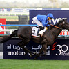 Cavalryman winning the Dubai Gold Cup.<br /> Photo by Dave Harmon