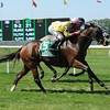 Shakeira wins the 2013 Mount Vernon Stakes.<br /> Coglianese Photos