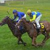 Better Lucky, Julien Leparoux up (all blue silks), wins the First Lady Stakes, Keeneland Race Course, Lexington, KY, 10/5/13, photo by Mathea Kelley;