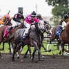 Poker Player, Channing Hill up, wins the Bourbon Stakes, Keeneland Race Course, Lexington, KY, 10/6/13, photo by Mathea Kelley;