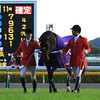 Just a Way wins the Tenno Sho in Japan.<br /> Naoji Inada Photo