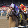 Princess of Sylmar wins the 2013 Alabama.<br /> Coglianese Photos/Adam Mooshian