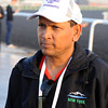 Shivananda Parbhoo, trainer of Trinniberg<br /> Dubai, March 28, 2013<br /> Dave Harmon Photo