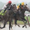 Souper Speedy (left) wins the 2013 Jaipur via disqualification.<br /> Coglianese Photos/Courtney Heeney