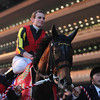 Gentildonna wins the 2013 Japan Cup with jockey Ryan Moore.<br /> Photo Credit: Masakazu Takahashi