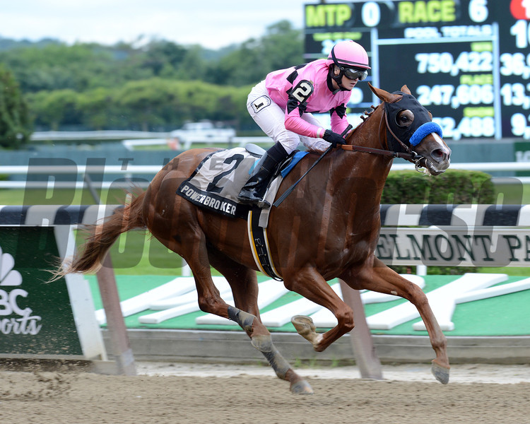 Power Broker wins the 2013 Easy Goer.<br /> Coglianese Photos/Courtney Heeney