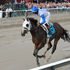 Strong Mandate wins the Hopeful Stakes.<br /> Coglianese Photos
