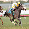 Hard Not to Like wins the 2013 Marshua's River.<br /> Coglianese Photos/Courtney Heeney