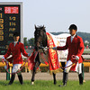 Kizuna wins the Tokyo Yushun (Japanese Derby). <br /> Naoji Inada Photo
