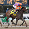 Summer Applause wins the 2013 Top Flight.<br /> Coglianese Photos