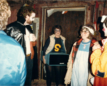 19851031 Gandalf Halloween Party