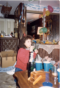1986 New year's Eve party at my house
