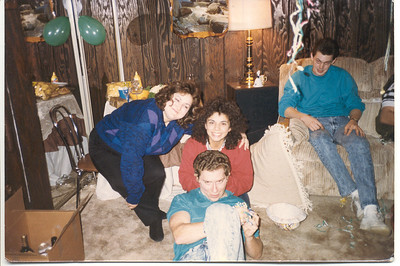 1986 New year's Eve party at my house.