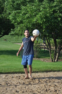 20150623 Plexus Sand Volleyball: Sets of Fire vs Spiked Punch