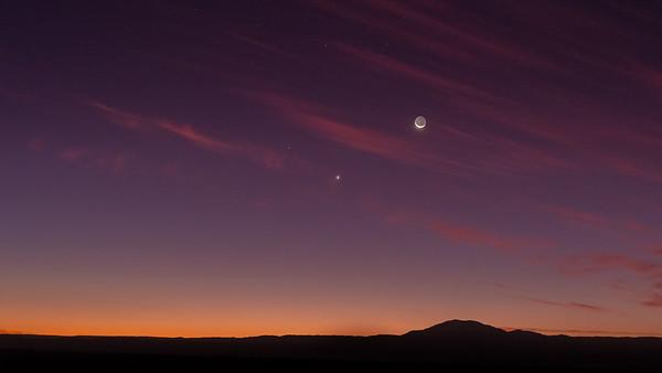 Mercury Venus Moon