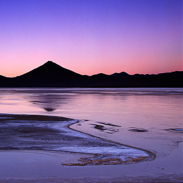 Sunrise at Laguna Colorada