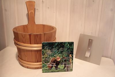 Hand made design sauna thermometers