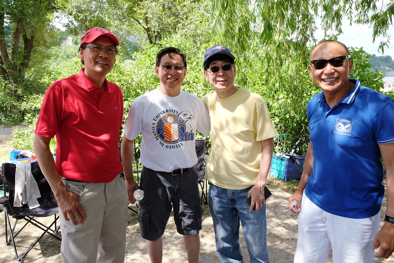 Ateneo Picnic at Bluffers Park, Scarborough