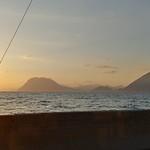 Coucher de soleil à Patras