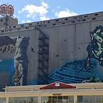 Graffiti au port de La Pirée