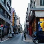 Rue commerciale à Athènes