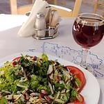 Salade aux pistaches à Égine