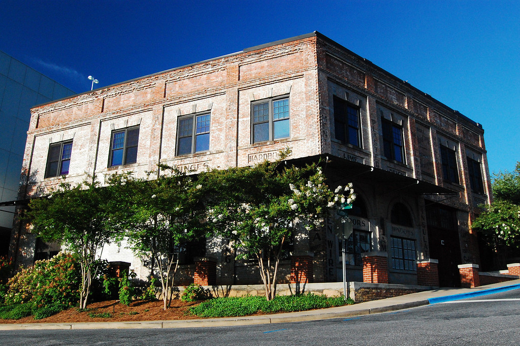 Tanner Building, Athens, GA (Clarke County). 2007<br /> <br /> This building was owned by the Tanner Lumber Company (as you can see it sold more than lumber) until it was bought by the University of Georgia in 1997. It currently houses the Graphic Design and Scientific Illustration programs of UGA's School of Art.