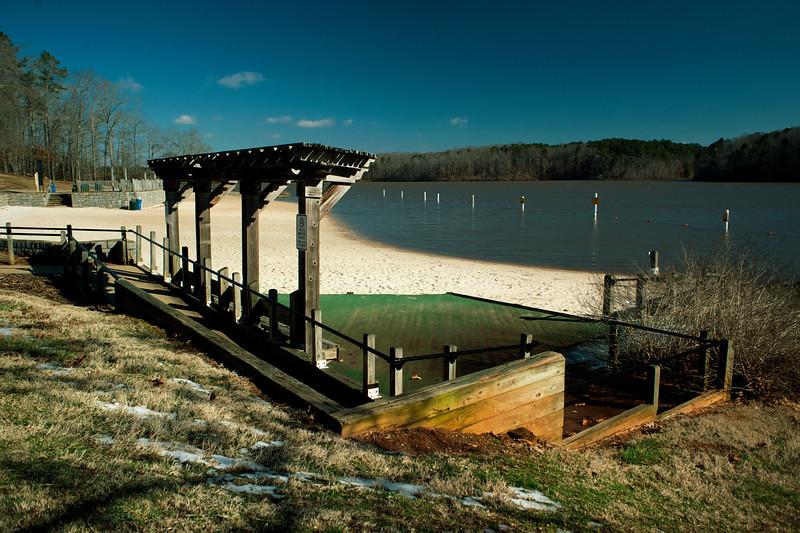 Sandy Creek Park, GA (Clarke County) February 2014