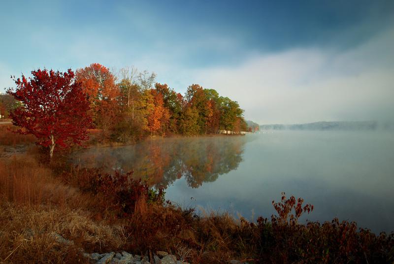 Sandy Creek Park, GA (Clarke County) November 2010