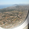 Athens from the plane.