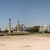 Temple of Olympian Zeus panorama.