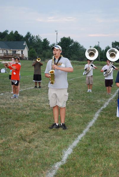 Band Camp Sun, Mon, 2010