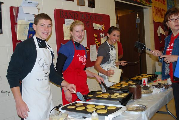 Drum Major Pancakes