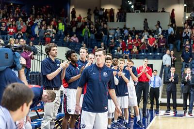 Homecoming Men's Basketball VS Tennessee Tech 2016