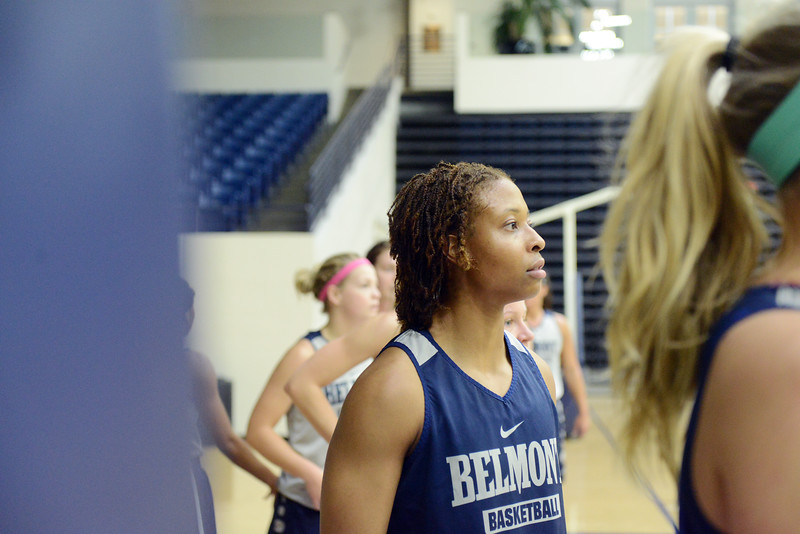 Women's basketball practice