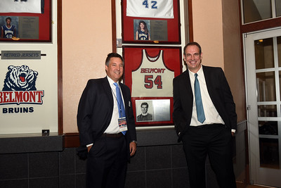 Belmont Jersey retirement