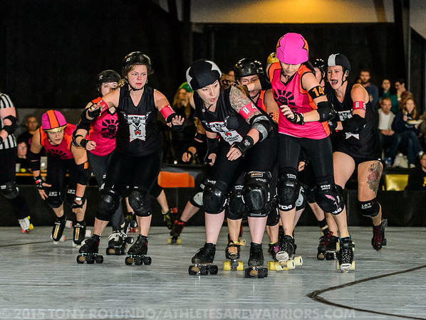2014 DERBY: BAD DOUBLE HEADER: TheBerkeleyResistance v Oakland Outlaws