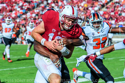 2016 COLLEGE FOOTBALL: OSU AT STANFORD