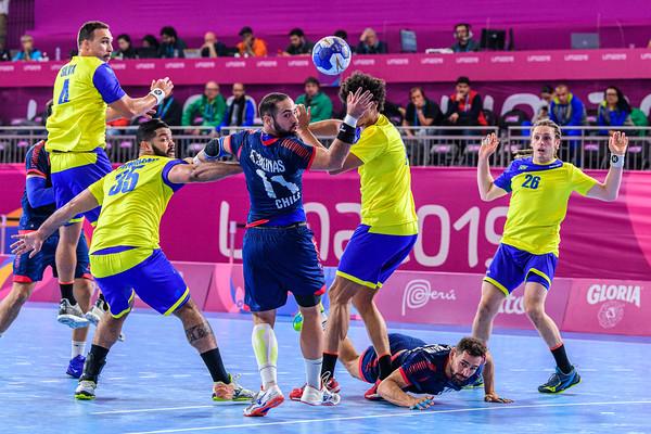 2019 PANAMS: HANDBALL: CHILE VS BRAZIL