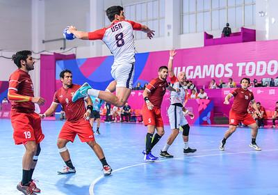 2019 PANAMS: HANDBALL:USA VS PERU