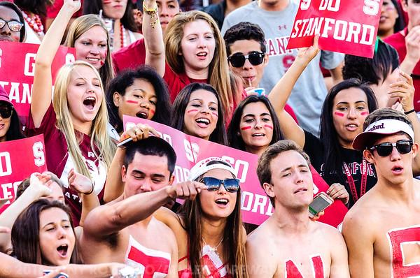 2014 SPORTS: STANFORD 34 VS WASHINGTON STATE 17