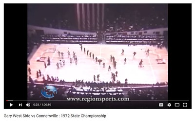 Gary West Side Vs Connersville 1972 State Championship