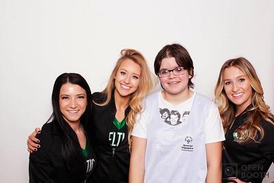 Celtics Cheerleaders at KCYC
