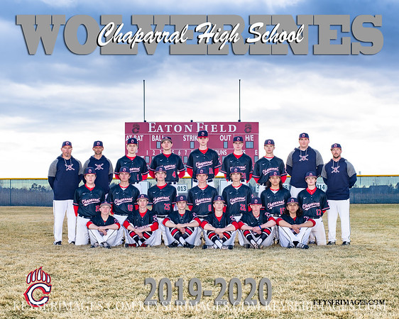2020 CHAPARRAL BASEBALL TEAMS