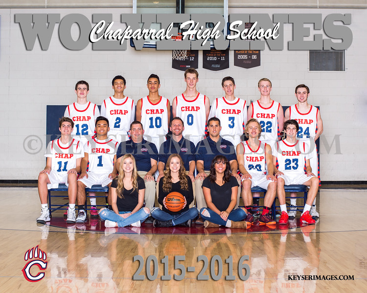 2015 VARSITY -- available in 8x10 only!