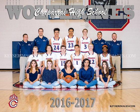 2016-17 CHAPARRAL BOYS BASKETBALL