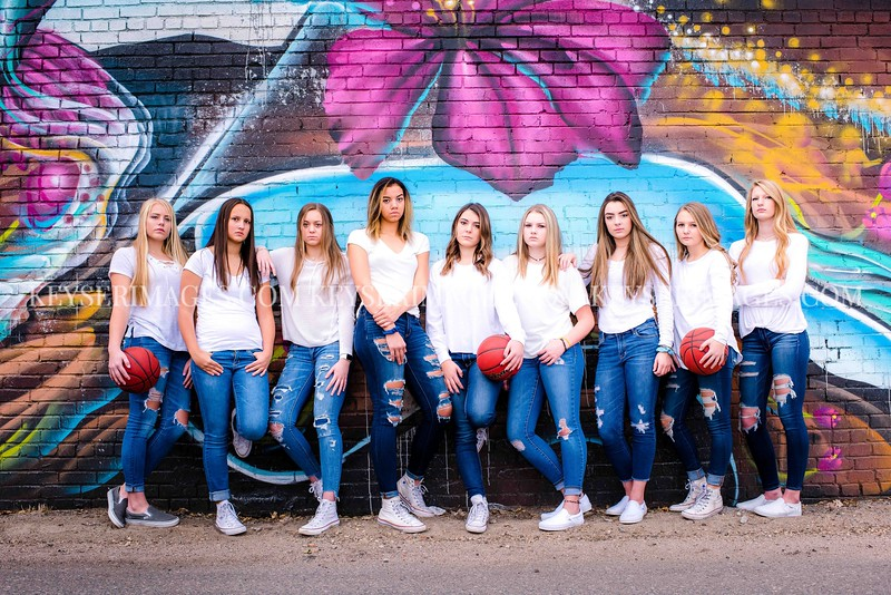 2017-2018 CHAPARRAL GIRLS VARSITY BASKETBALL
